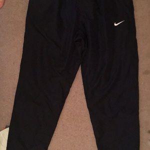 Snow workout pants, black nike XL
